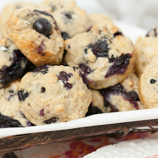 Blueberry Biscuit Muffins