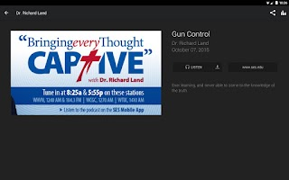 Screenshot of SES Apologetics App