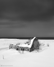 Photo: This old derelict house's roof couldn't handle the weight of the snow any longer. Shot on the west coast of Hokkaido in Jan 2011.