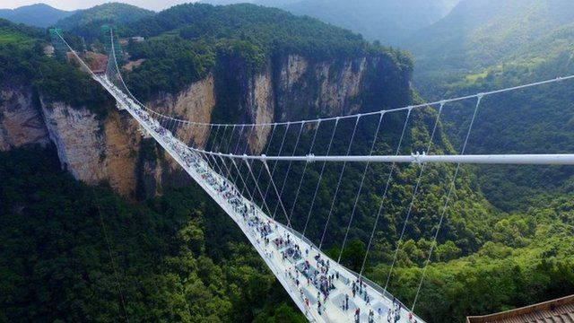 china sky bridge