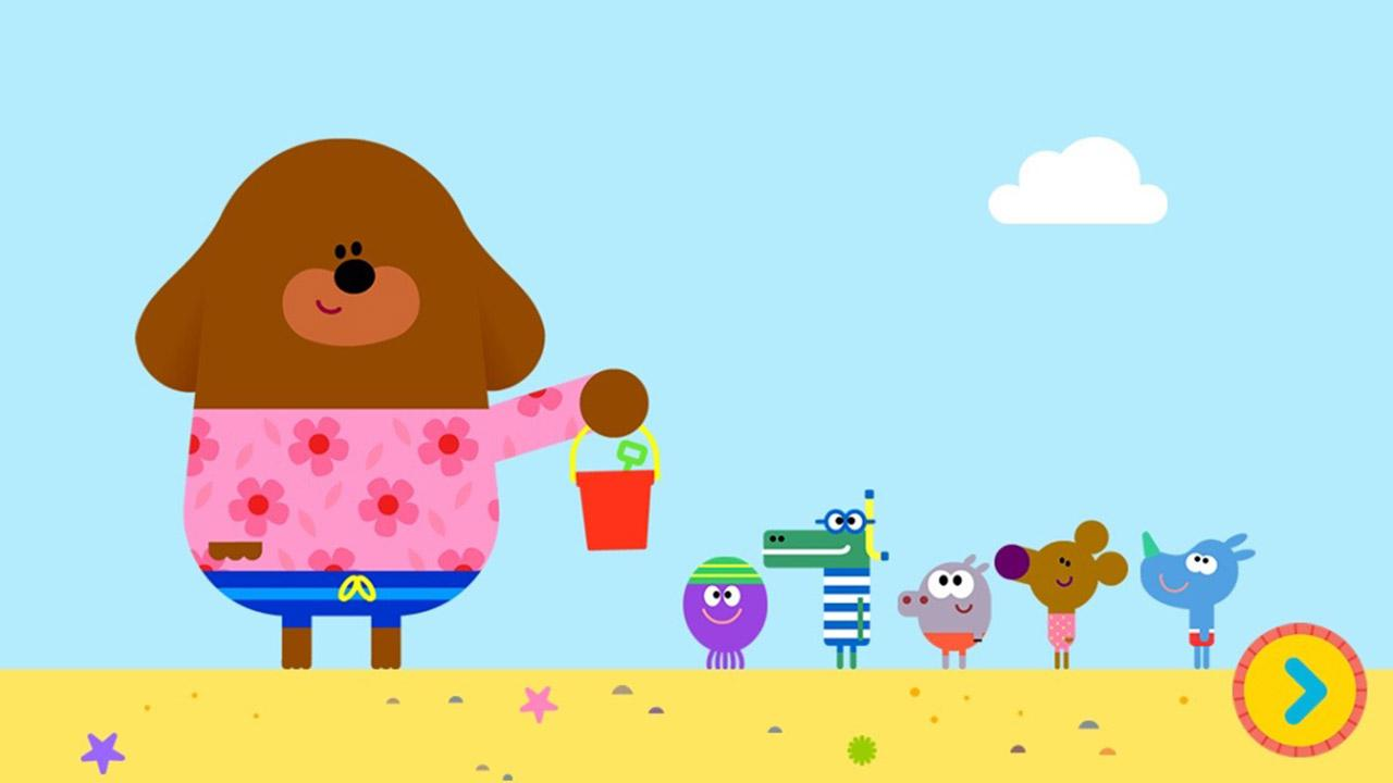 Hey Duggee Sandcastle Badge Android Apps On Google Play