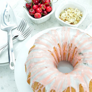 Sweet Cherry & Almond Bundt Cake