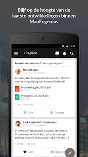 ManEngenius App - náhled