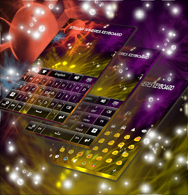 Stellar Spheres Keyboard - screenshot
