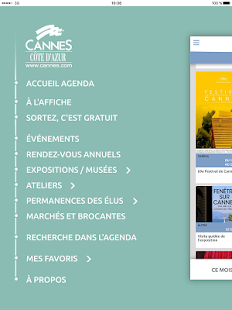 Cannes Agenda- screenshot thumbnail