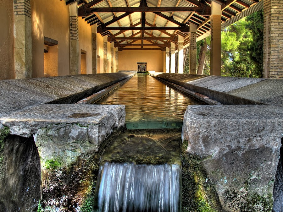 Lavadero by Emilio Jose Mariel Albert - Buildings & Architecture Public & Historical ( agua, ibi, color, mariel, lavadero,  )