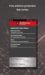 Free Antivirus for Android- screenshot thumbnail