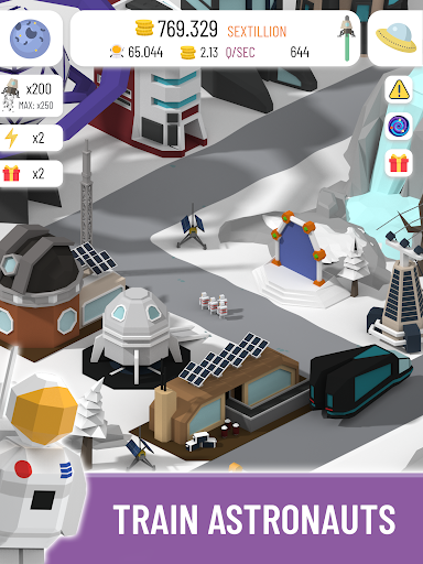 Space Colony: Idle screenshots 9