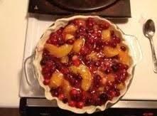 Cranberry Peach Pie