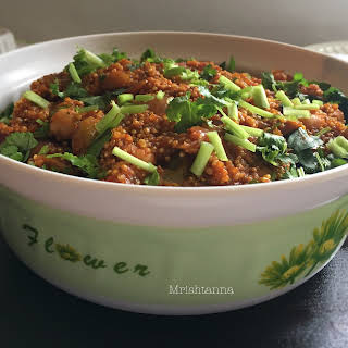 One Pan Indian Quinoa Recipe.