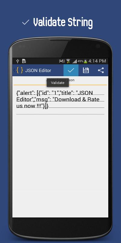 json editor capture dcran