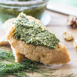 Fennel Walnut Pesto