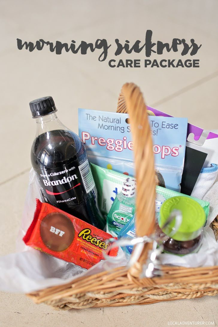Morning Sickness Care Package / How to Ease Morning Sickness.
