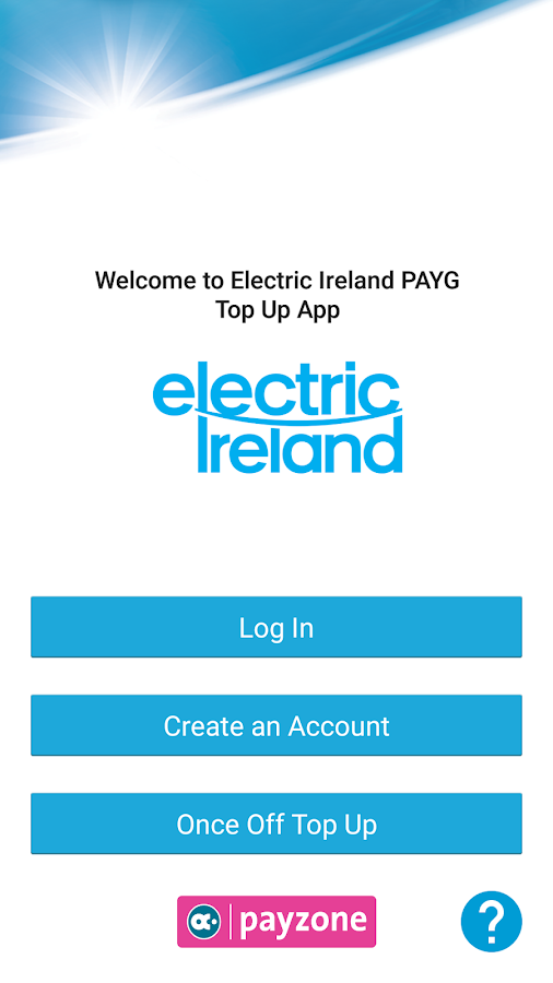 PAYG  Electricity Top-Up- screenshot