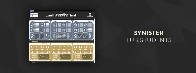 Synister by TUB Students (VST/AU plugin)