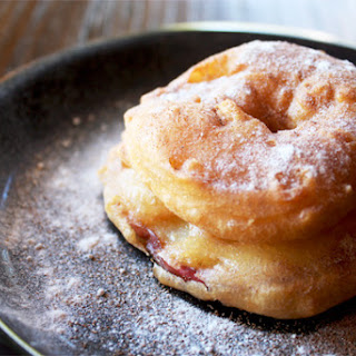 APPLE FRITTER DONUTS