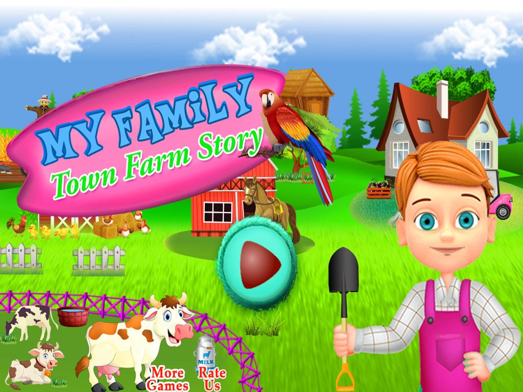 My Family Town Farm Story- screenshot