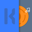 Mini Music player for kwgt icon