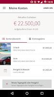 Screenshot of MoneYou Spar-App