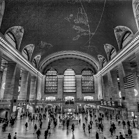Grand Central Station by Angel Escalante - Buildings & Architecture Other Interior ( grand central terminal, grand central station, manhattan, nyc, ny )