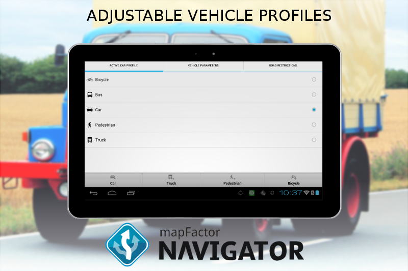 #14. MapFactor GPS Navigation Maps (Android)