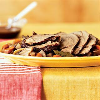 Braised Roast With Root Vegetables