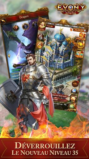 Evony - Le retour du roi  captures d'u00e9cran 1