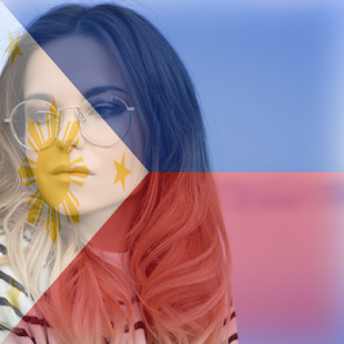 Philippines Flag On Face Maker : Photo Editor - náhled