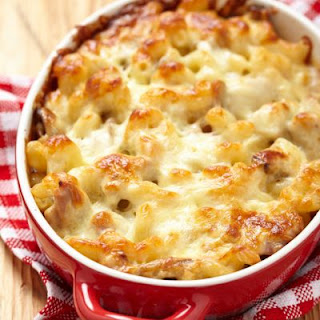 Caramelized Macaroni and Cheese With Chicken And A Kick.