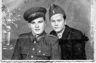 Photo: Ágos Árpád katonaként