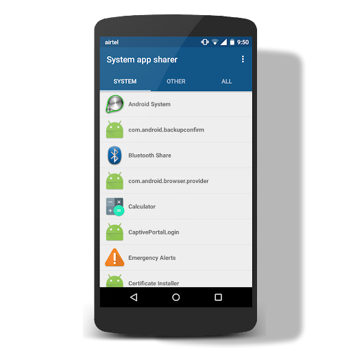 System App Sharer