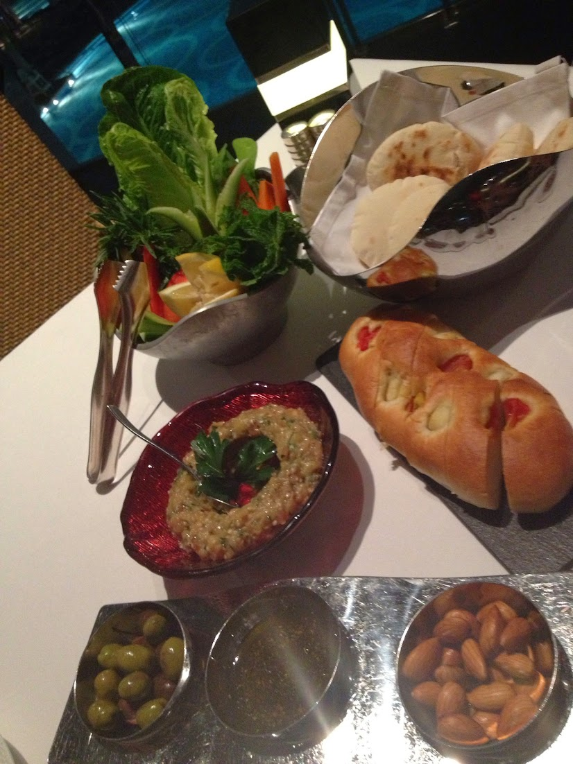 Assorted dishes at Li Beirut, Abu Dhabi, UAE