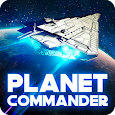 Planet Commander Online: Space ships galaxy game icon