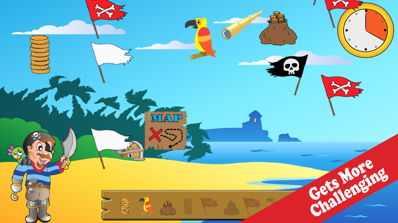 Wee Pirate Treasures- screenshot