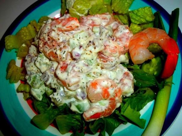 ~ Refreshing Shrimp Salad ~ Cassies Recipe