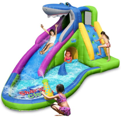4. Action Air Inflatable Waterslide