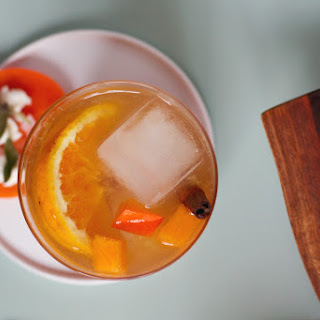 Spiced Persimmon Old Fashioned Cocktail Recipe