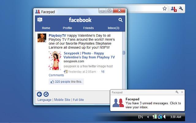 Facepad for Facebook™