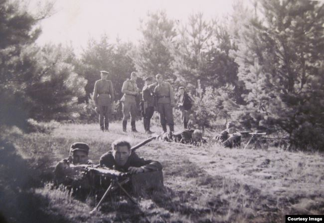 Боевики занимают оборонительные позиции в Парчевском лесу