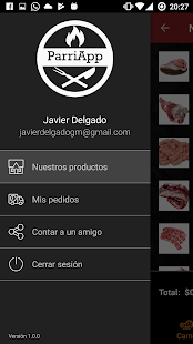 ParriApp - Delivery de asado en Tucumán - náhled
