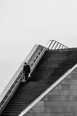 Giù per le scale di Francesco_Segantini