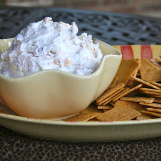 Cheddar Bacon Ranch Dip a.k.a. The World's Most Addictive Dip