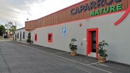 Los almacenes de Caparrós, cerrados.
