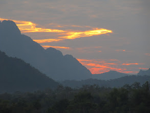 Photo: Day 302 - Sunset Over the River Nam Song in Vang Vieng