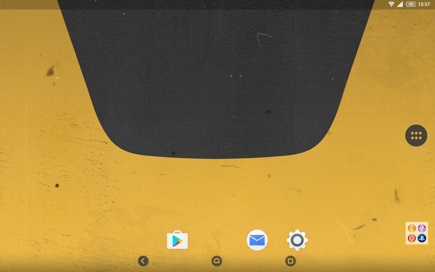 XPERIA  Yellow Retro Theme  screenshot. XPERIA  Yellow Retro Theme   Android Apps on Google Play