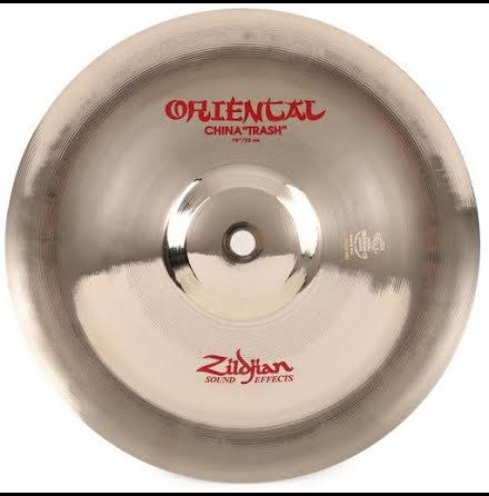 "10"" Zildjian Oriental - China Trash"