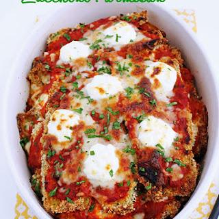 Zucchini Parmesan w/ Ricotta