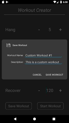 Hang Tight - Hangboard Trainer screenshot 2