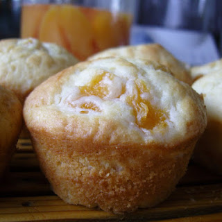 Flashback Friday - Peaches and Cream Muffins