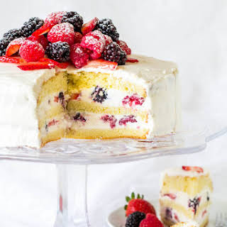Berry Chantilly Cake.